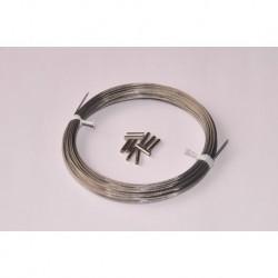 Cable de hauban tressé 10 kg