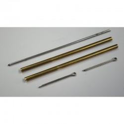 Barre de flèche Laiton 3/2mm